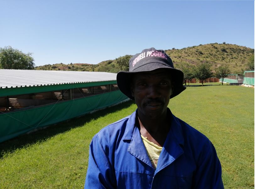 Albert Marimani – Farm Foreman
